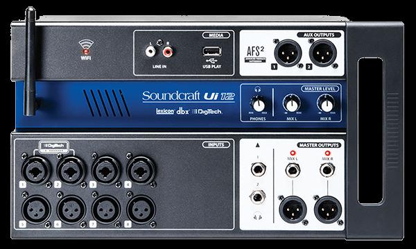 soundcraft ui12 front