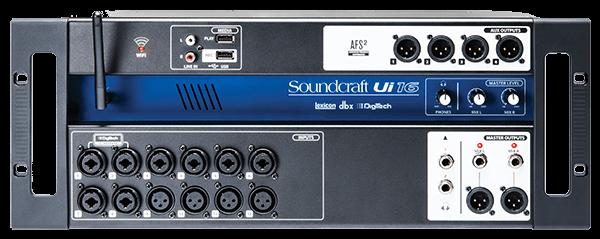soundcraft ui16 front