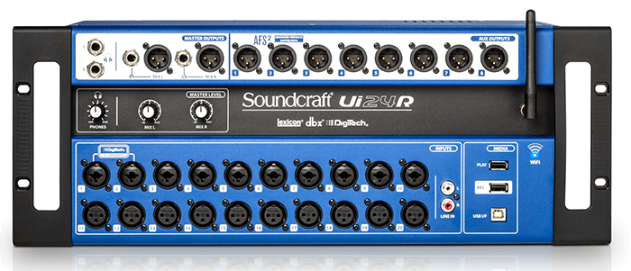soundcraft ui24r front