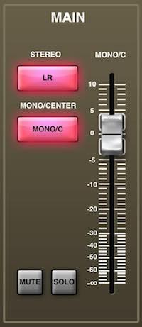 Behringer X32 Rack Mono Center Bus