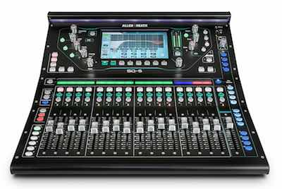 Digital Mixer Allen and Heath SQ5