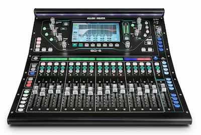 Digital Mixer Allen and Heath SQ5