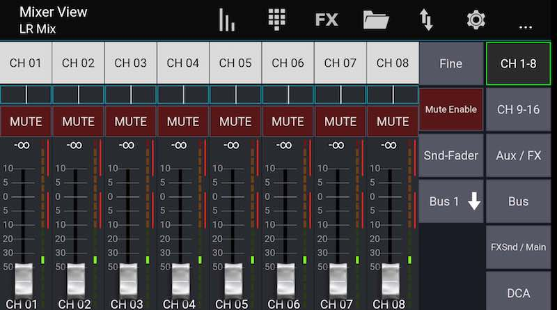 Mixing Station App Android