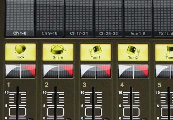 Soundcheck reihenfolge