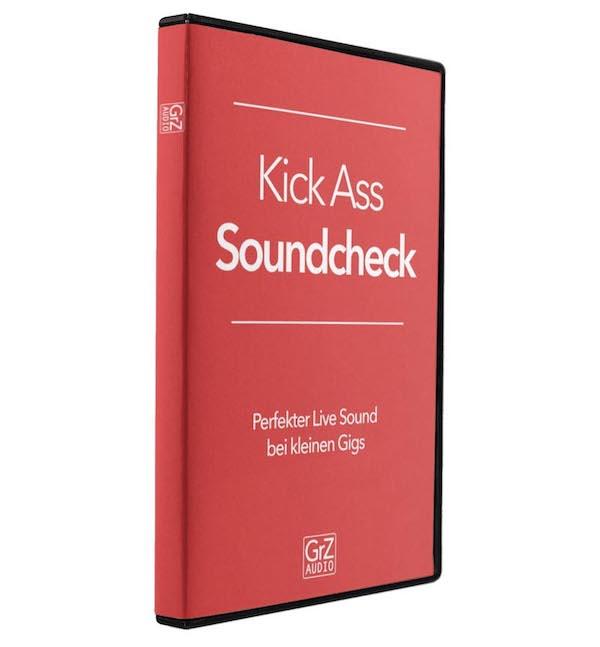 Videokurs Kick Ass Soundcheck zum Thema Live Sound und Live Mischen